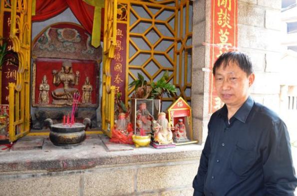 Hindu Goddess in Quanzhou, China