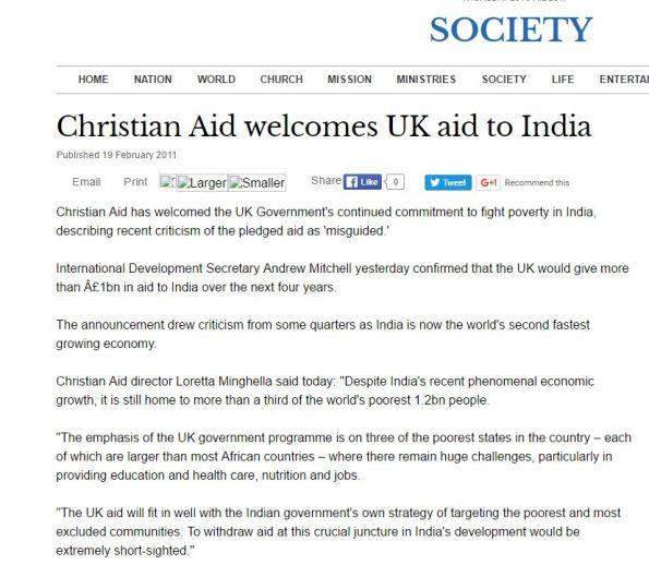 Christian society